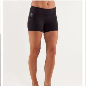 Lululemon Run Shorty Shorts